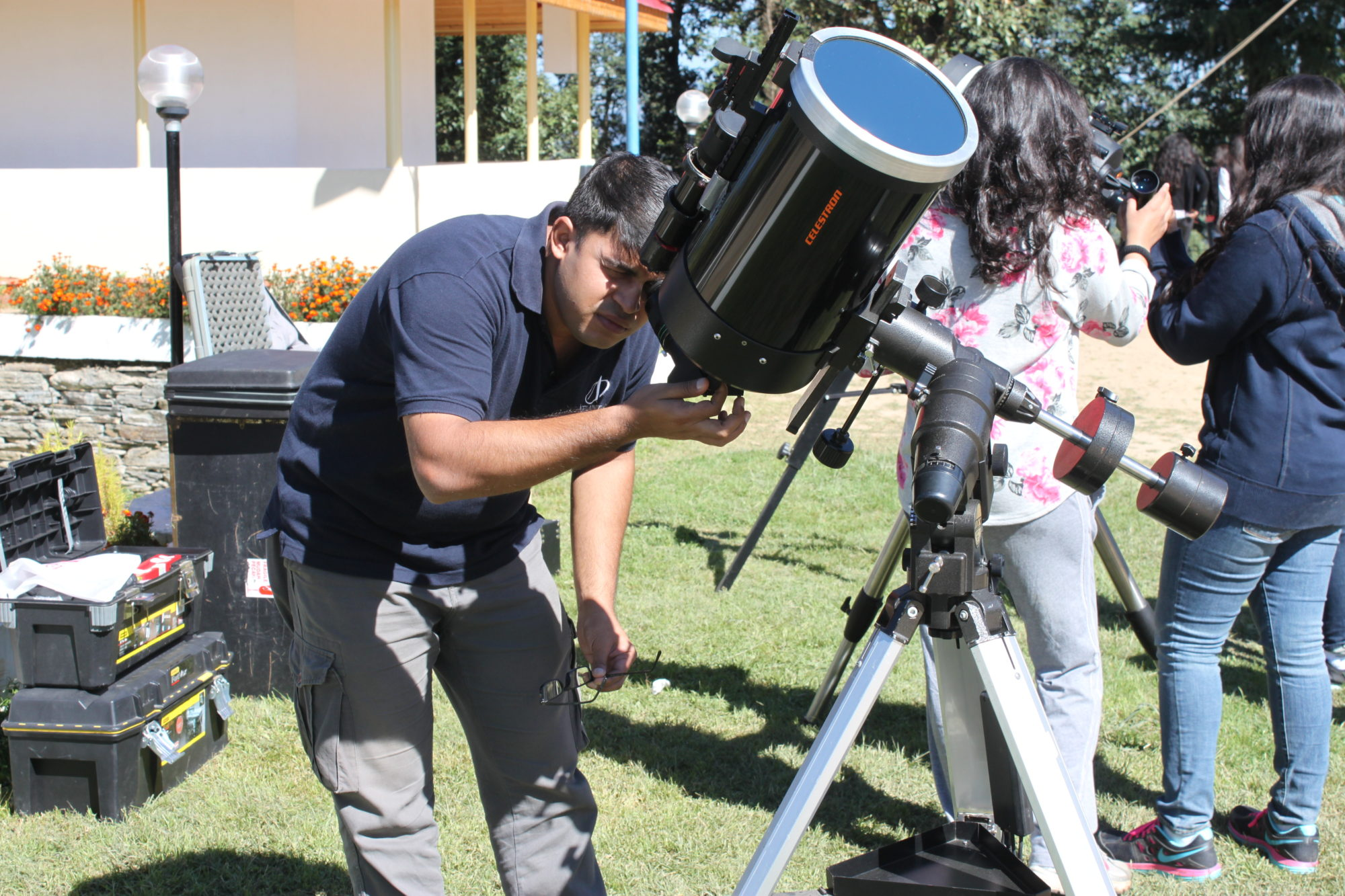 Solar Astronomy Session