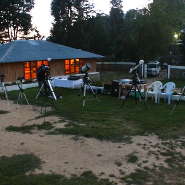 Astrotrek Chail Equipment set up