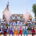 Street performance at Disney Land