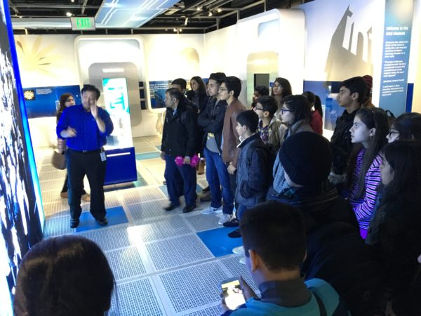 Students at Intel