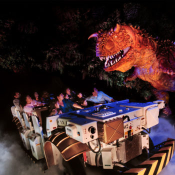 Dinosaur's ride at Disney's Animal Kingdom